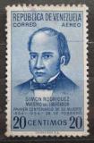 Poštovní známka Venezuela 1954 Simón Rodriguez Mi# 1078