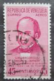 Poštovní známka Venezuela 1954 Simón Rodriguez Mi# 1079