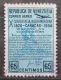 Poštovní známka Venezuela 1954 Panamerická konference Mi# 1084