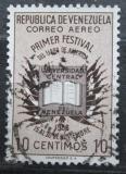 Poštovní známka Venezuela 1957 Otevřená kniha Mi# 1151