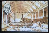 Poštovní známka Svatý Tomáš 1982 Parní lokomotiva Mi# Block 113 A Kat 11€