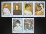 Poštovní známky Svatý Tomáš 1982 Vánoce, umění, Pablo Picasso Mi# 801-06 Kat 16€