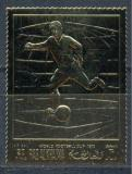 Poštovní známka Rás al-Chajma 1970 MS ve fotbale ZLATÁ Mi# 365 A Kat 12€