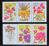 Poštovní známky Rusko 1996 Zahradní květiny Mi# 480-84