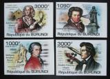Poštovní známky Burundi 2011 Skladatelé neperf. Mi# 2154-57 B
