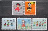 Poštovní známky Nizozemské Antily 1963 Dětské kresby Mi# 132-36