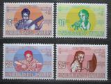 Poštovní známky Nizozemské Antily 1969 Děti a hudba Mi# 210-13