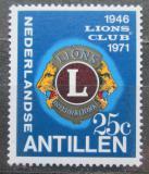 Poštovní známka Nizozemské Antily 1971 Lions Intl., 25. výročí Mi# 229