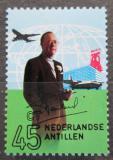 Poštovní známka Nizozemské Antily 1971 Princ Bernard a letadla Mi# 234