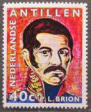 Poštovní známka Nizozemské Antily 1971 Admirál Pedro Luis Brion Mi# 235