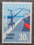 Poštovní známka Nizozemské Antily 1972 Loď v přístavu Mi# 245
