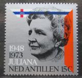 Poštovní známka Nizozemské Antily 1973 Královna Juliana Mi# 272