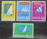 Poštovní známky Nizozemské Antily 1979 Regata Bonaire Mi# 391-94