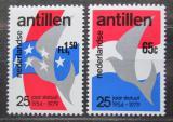 Poštovní známky Nizozemské Antily 1979 Svoboda Mi# 405-06