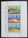 Poštovní známky Nizozemské Antily 1982 Místní architektura Mi# Block 23