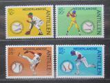 Poštovní známky Nizozemské Antily 1984 Baseball Mi# 520-23 Kat 7.50€