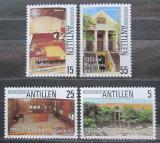 Poštovní známky Nizozemské Antily 1986 Radnice na Curacao Mi# 578-81