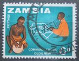 Poštovní známka Zambie 1964 Tradiční a moderní komunikace Mi# 6