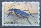 Poštovní známka Zambie 1986 Phasgonocnema melanianthe Mi# 350