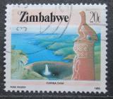 Poštovní známka Zimbabwe 1985 Přehradní nádrž Kariba Mi# 320