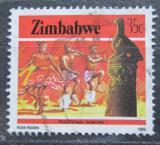 Poštovní známka Zimbabwe 1985 Tradiční tanec Mi# 325