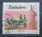 Poštovní známka Zimbabwe 1985 Tradiční povoz Mi# 329 Kat 4.50€