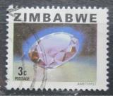 Poštovní známka Zimbabwe 1980 Ametyst Mi# 228