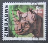 Poštovní známka Zimbabwe 1980 Nosorožec Mi# 232