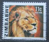 Poštovní známka Zimbabwe 1980 Lev Mi# 233