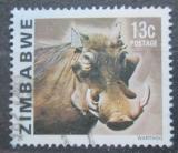 Poštovní známka Zimbabwe 1980 Prase bradavičnaté Mi# 234