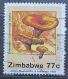 Poštovní známka Zimbabwe 1992 Liška obecná Mi# 481