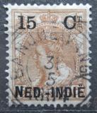 Poštovní známka Nizozemská Indie 1899 Královna Wilhelmina přetisk Mi# 33