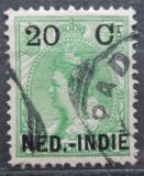Poštovní známka Nizozemská Indie 1899 Královna Wilhelmina přetisk Mi# 34