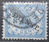 Poštovní známka Nizozemská Indie 1911 Nominální hodnota, služební Mi# 14