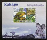 Poštovní známka Svatý Tomáš 2009 Papoušci DELUXE Mi# 3885 Block