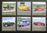 Poštovní známky Guinea-Bissau 2001 Stará auta Mi# 1731-36 Kat 9€
