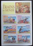 Poštovní známky Džibutsko 2000 Parní lokomotivy Mi# 704-09 Kat 11€