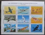 Poštovní známky Gambie 1996 Bojová letadla Mi# 2485-93 Kat 10€