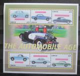 Poštovní známky Libérie 2001 Klasické automobily Mi# 3942-47 Kat 8€