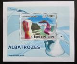 Poštovní známka Svatý Tomáš 2008 Albatros DELUXE Mi# 3538 Block