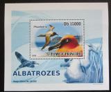 Poštovní známka Svatý Tomáš 2008 Albatros DELUXE Mi# 3539 Block
