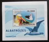 Poštovní známka Svatý Tomáš 2008 Albatros DELUXE Mi# 3540 Block