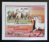 Poštovní známka Svatý Tomáš 2010 Koně DELUXE Mi# 4363 Block