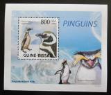 Poštovní známka Guinea-Bissau 2009 Tučňáci DELUXE Mi# 4393 Block
