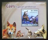 Poštovní známka Svatý Tomáš 2008 Psi DELUXE Mi# 3709 Block