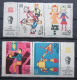 Poštovní známky Uruguay 1970 Dětské kresby, UNESCO Mi# 1191-94