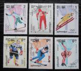 Poštovní známky Kambodža 1984 ZOH Sarajevo Mi# 538-43