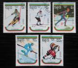 Poštovní známky Kambodža 1989 ZOH Albertville Mi# 1024-27,1029