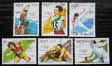 Poštovní známky Kambodža 1989 LOH Barcelona nekompl. Mi# 1040-45