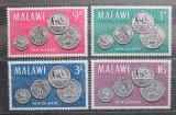 Poštovní známky Malawi 1965 Mince Mi# 23-26